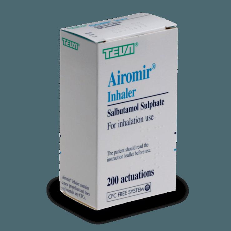 airomir traitement asthme sans ordonnance