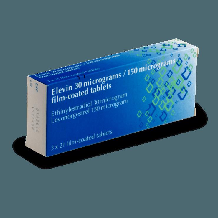 elevin pilule combinée sans ordonnance contraception
