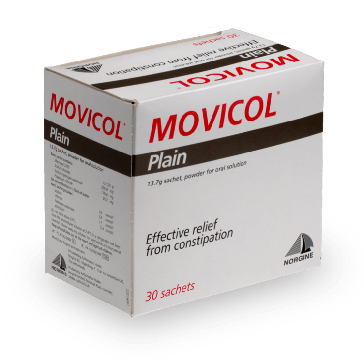 Movicol medicament constipation laxatif