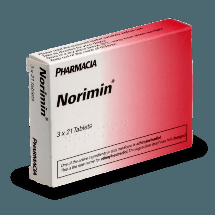 norimin pilule combinée contraception sans ordonnance