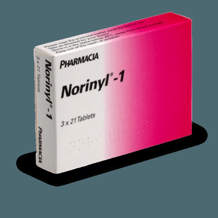 norinyl-1 pilule combinée contraception sans ordonnance