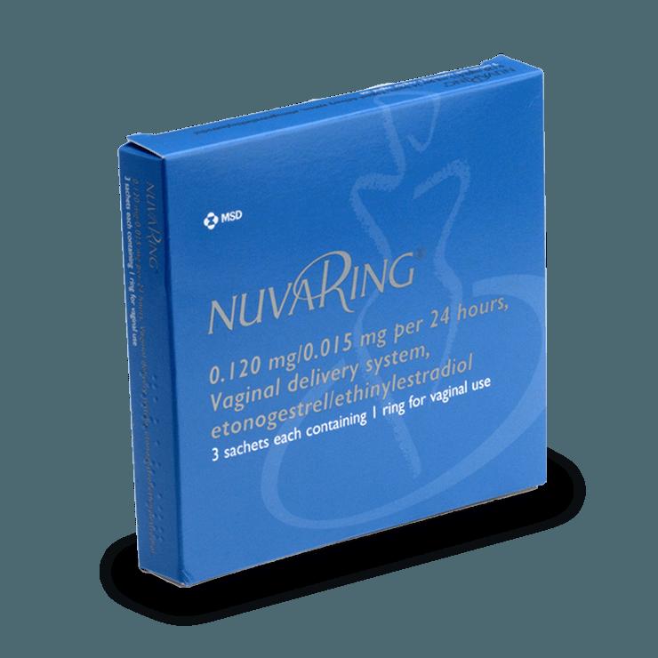 NuvaRing anneau vaginal contraception sans ordonnance