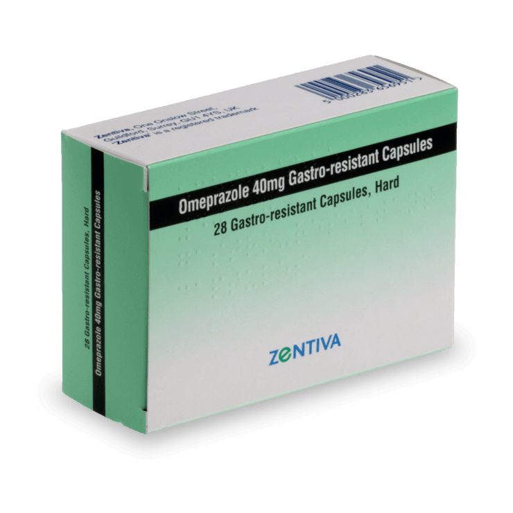 Omeprazole medicament traitement des brûlures estomac
