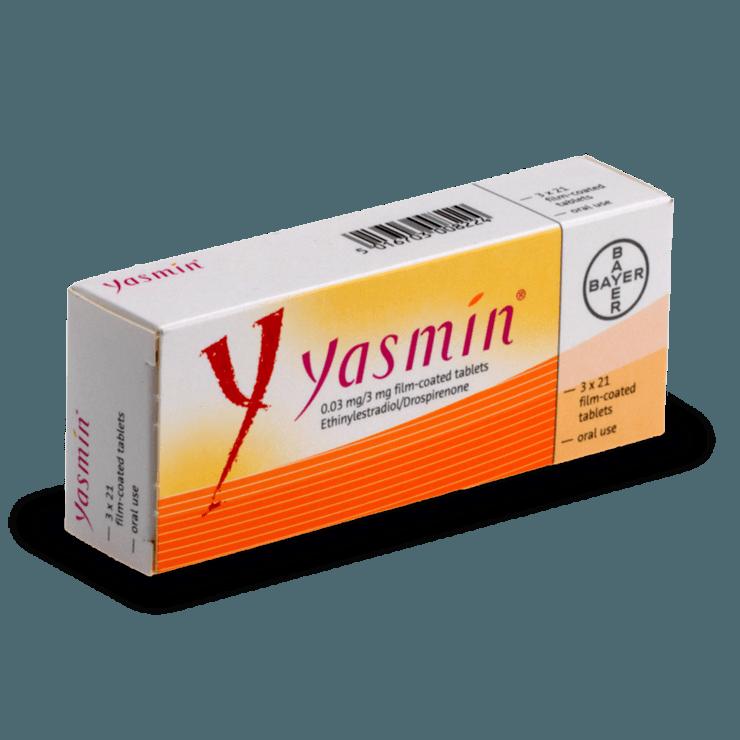 yasmin jasmine pilule combinée contraception sans ordonnance