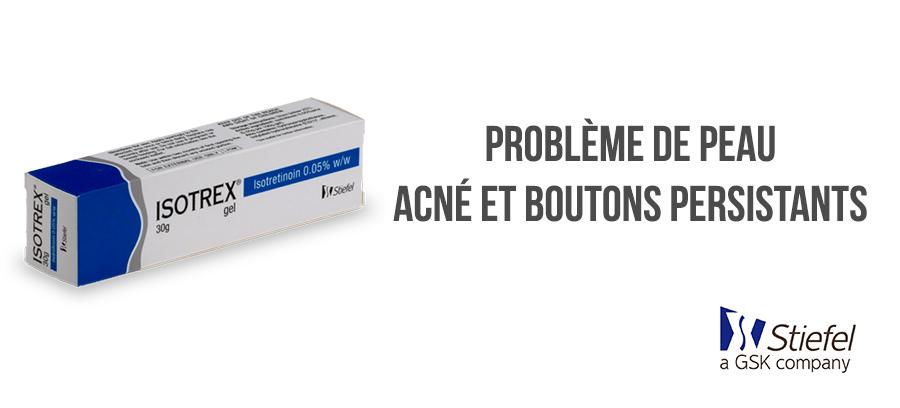 isotrex traitement acné sans ordonnance