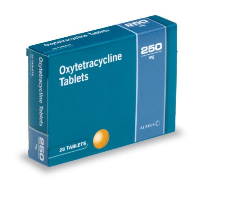 Traitement Oxytétracycline contre l'acné