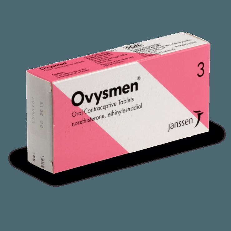 ovysmen pilule combinée sans ordonnance contraception