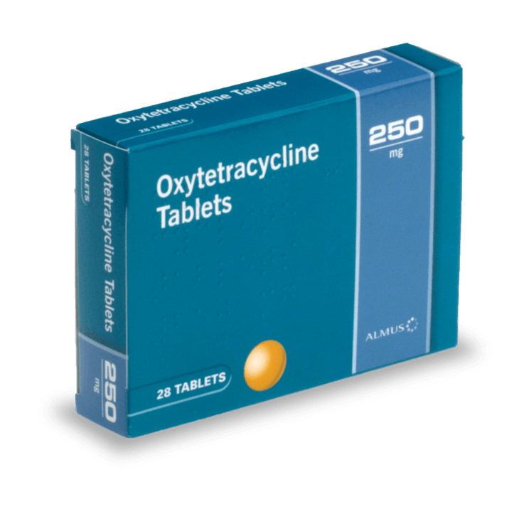 oxytétracycline traitement acné