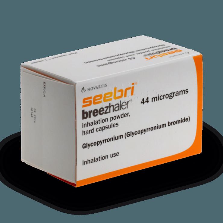 seebri breezhaler traitement BPCO sans ordonnances