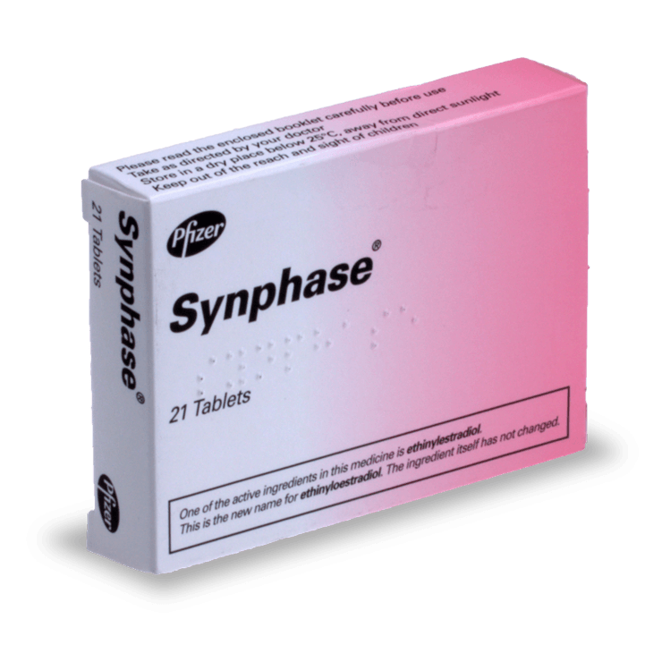 synphase pilule combinée sans ordonnance contraception