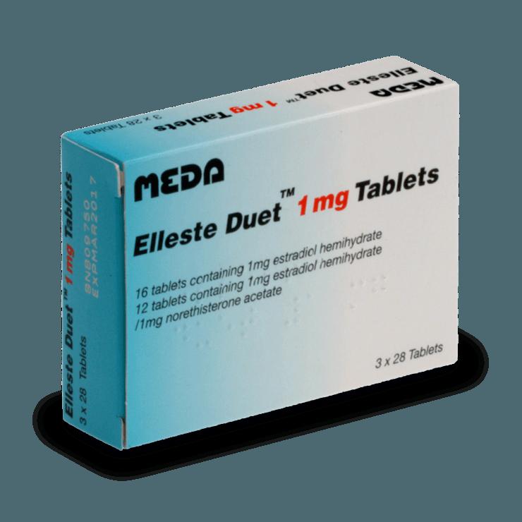 elleste duet traitement ménopause symptome sans ordonnance