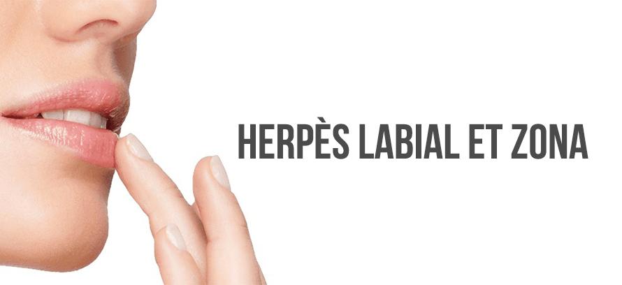 herpes labial et zona différence cause symptome traitement sans ordonnance