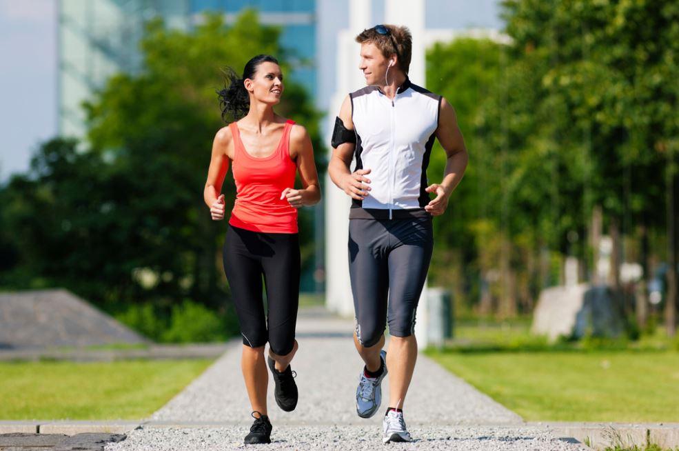 courir contre l'hypertension