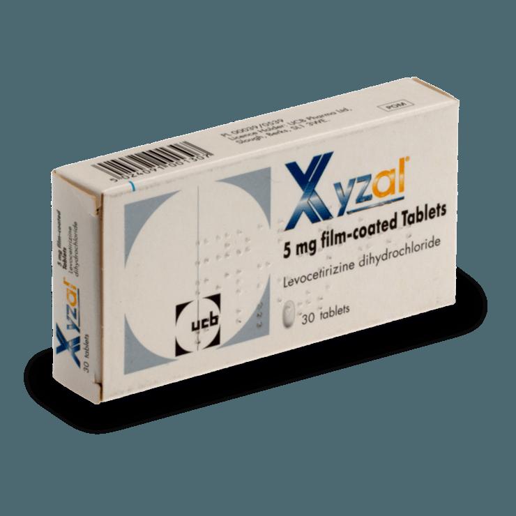 xyzall traitement allergie antistaminique sans ordonnance