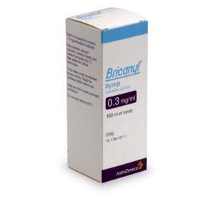 Traitement Bricanyl contre l'asthme