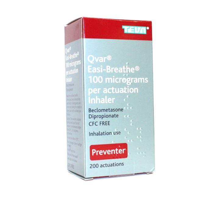 traitement Qvar contre l'asthme