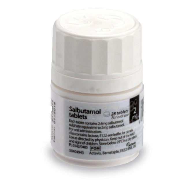 médicament salbutamol