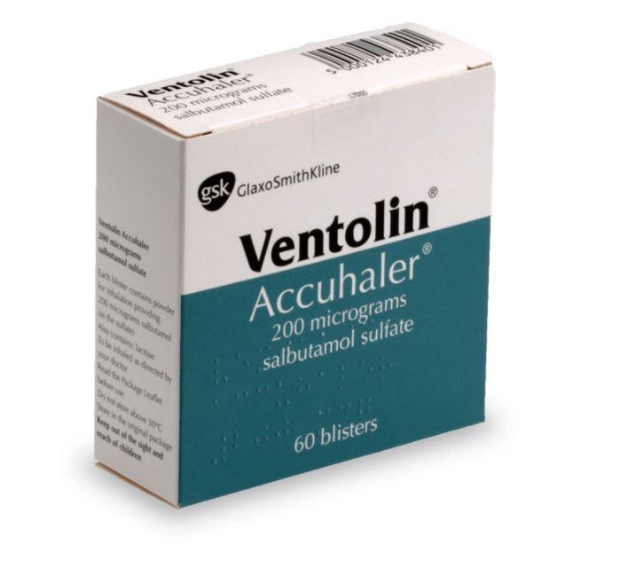 Traitement Ventolin contre l'asthme