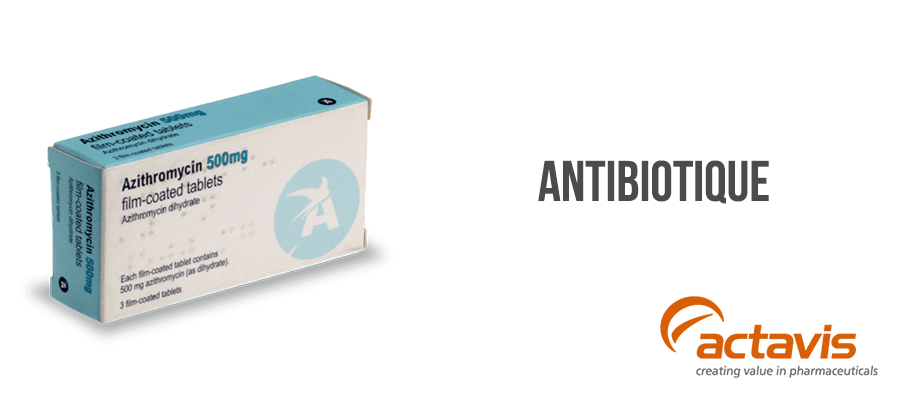 azithromycine antibiotique traitement infection sans ordonnance