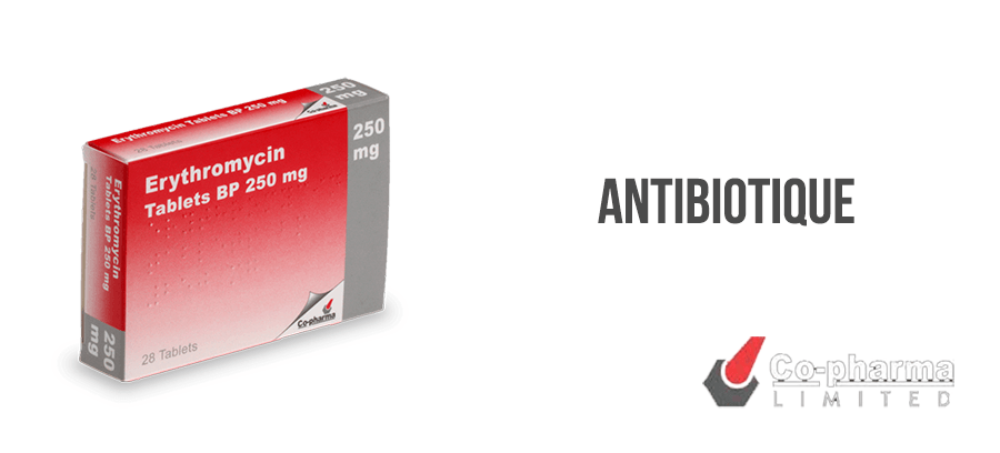 Erythromycine antibiotique traitement infection sans ordonnance