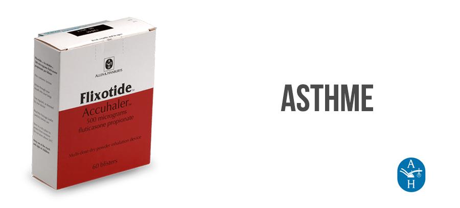flixotide traitement asthme sans ordonnance