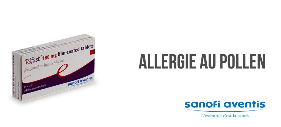 telfast antihistaminique traitement allergie
