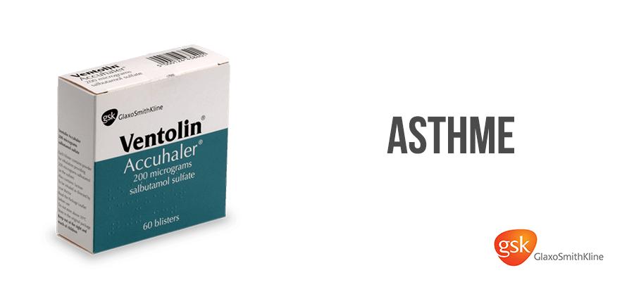 ventoline traitement asthme sans ordonnance