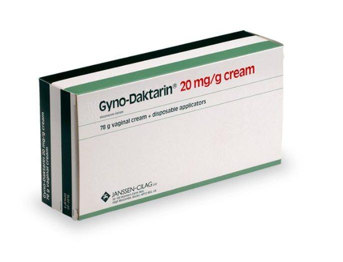 Crème Gyno-Daktarin contre la mycose vaginale
