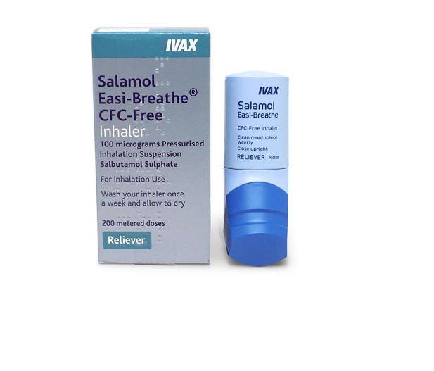 traitement contre l'asthme Salamol