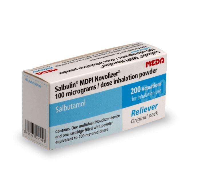 Ventilastin Novolizer pour traiter les crises d'asthme