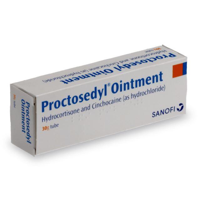 pommade proctosedyl contre les hémorroides