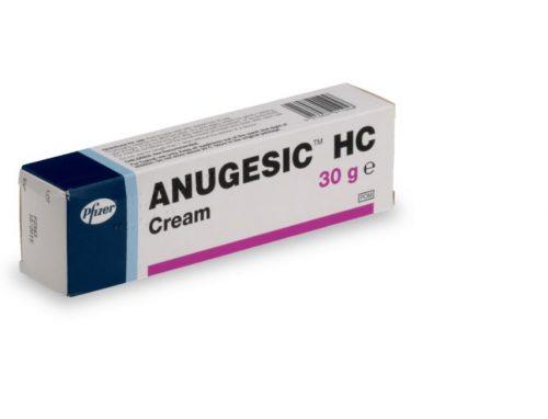 crème anugesic-HC médicament contre les hémorroides