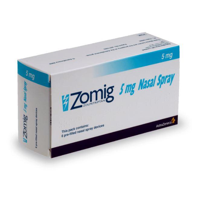 Zomig Spray Nasal pour contrer la migraine