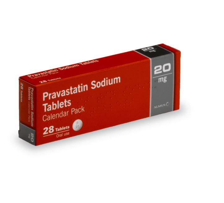 pravastatine pour la réduction du taux de cholestérol