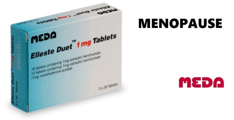 Elleste Duet contre les symptômes de la ménopause