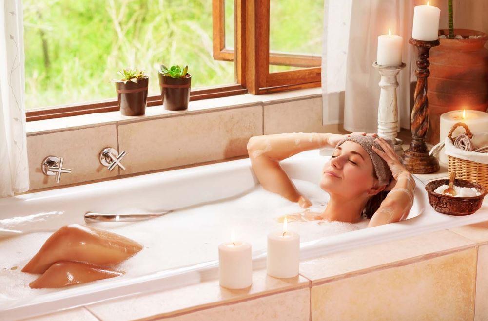 bains chauds cause de la rosacée