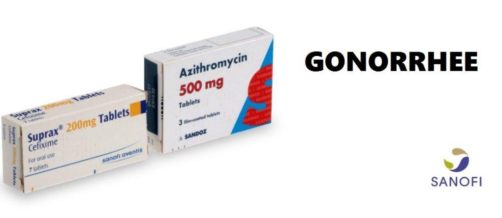 Traitement anti-gonorrhée