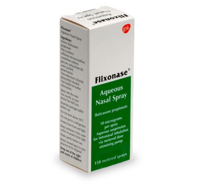 Flixonase pour effacer l'allergie au pollen