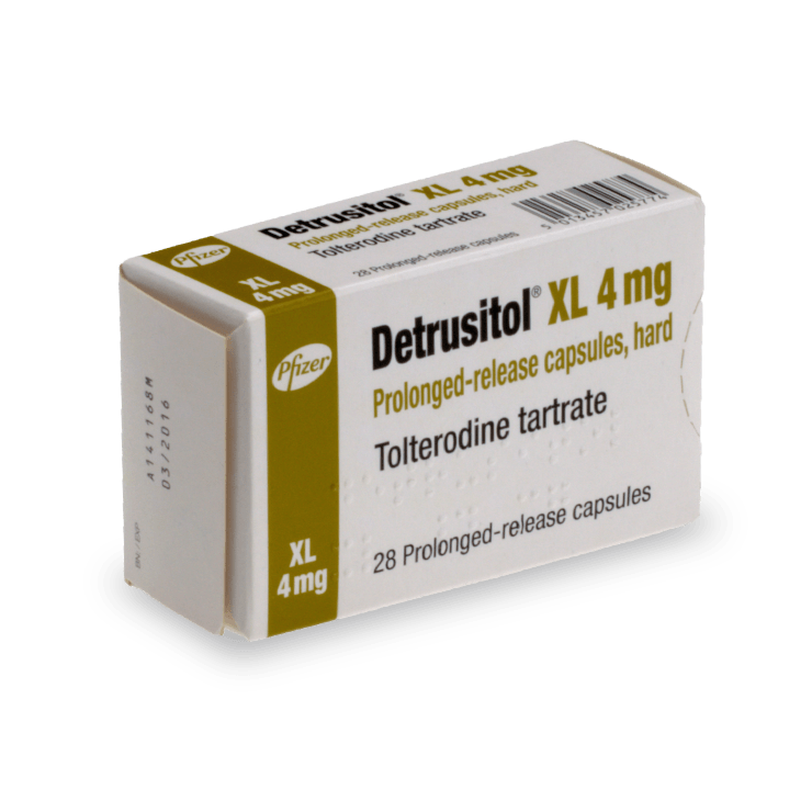 Detrusitol contre l'incontinence urinaire