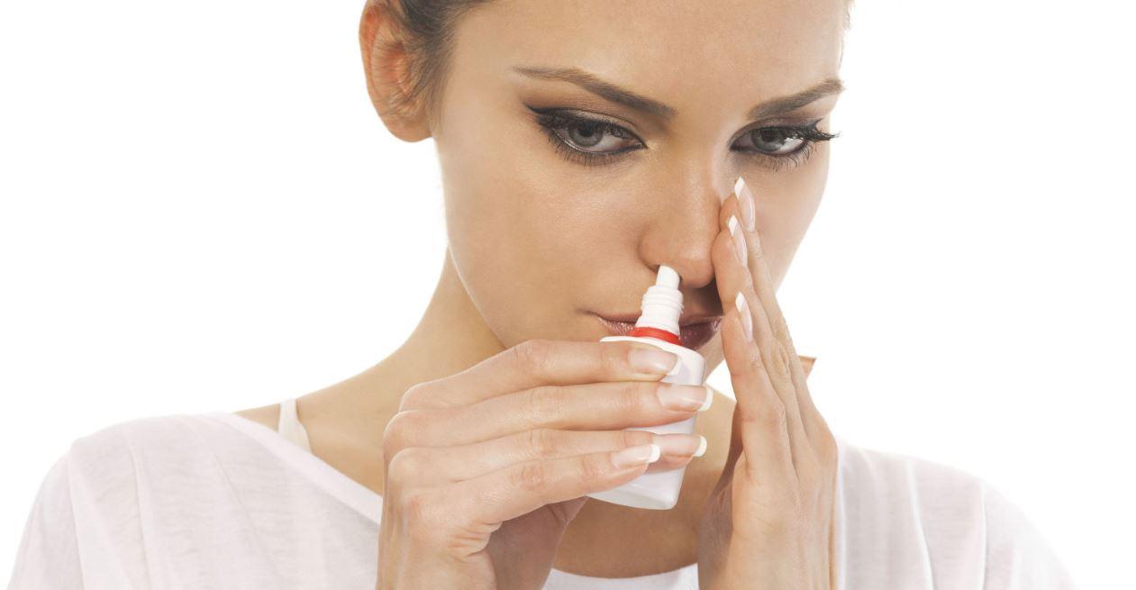 vaporisateur nasal pour soigner l'allergie au pollen