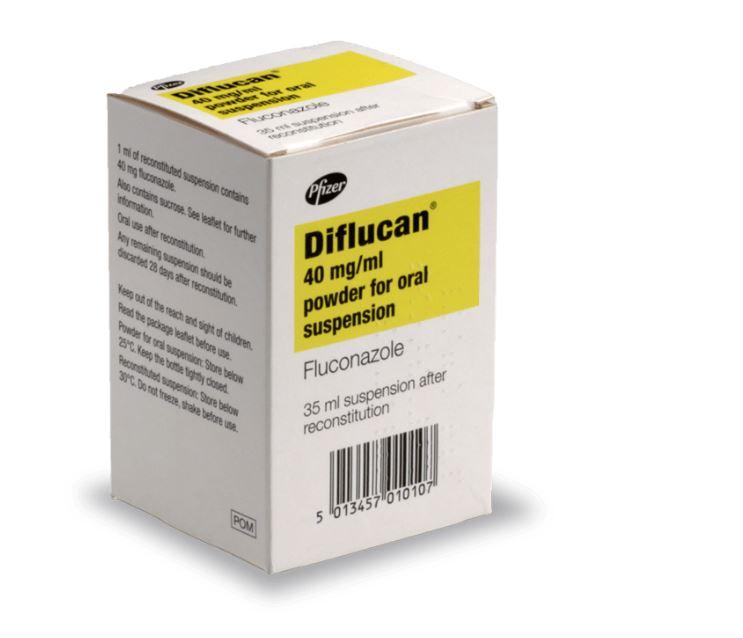Antifongique Diflucan Suspension