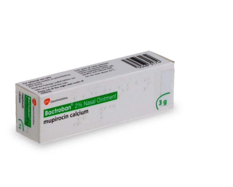 Traitement Bactroban contre les infections nasales