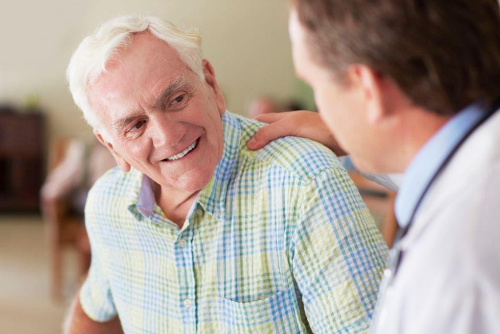 Hypertrophie de la prostate chez l'homme âgé