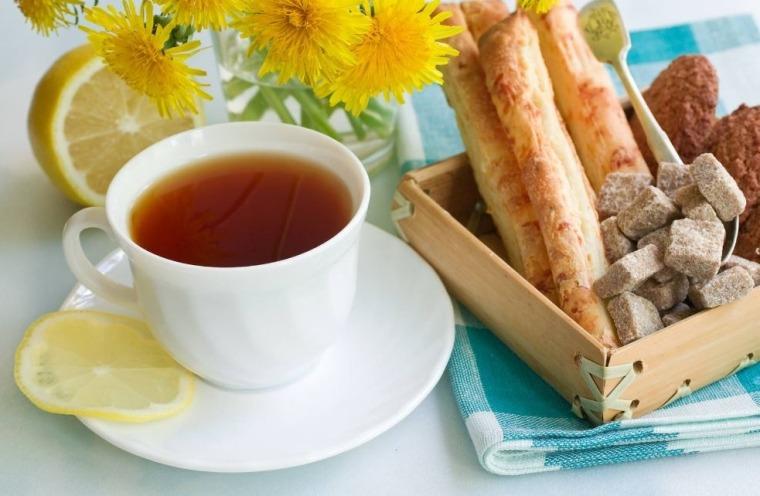 boire des boissons chaudes pour soigner l'infection nasale