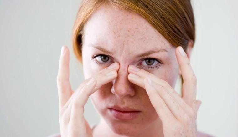 cas d'infection nasale