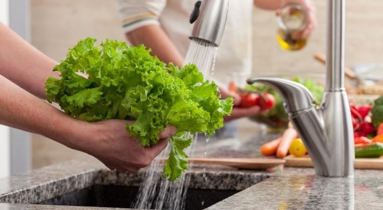 laver ses fruits et légumes