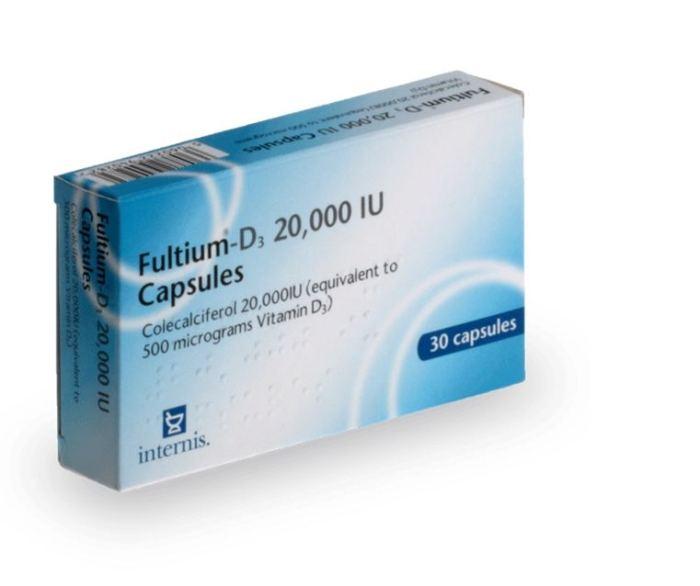 Fultium D3 : médicament pour lutter contre la carence en