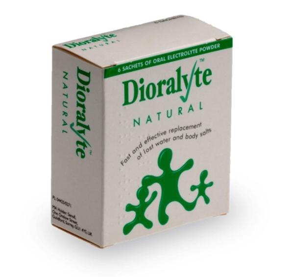 Traitement Dioralyte contre la diarrhée