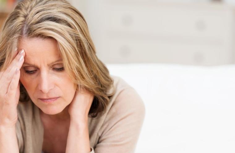 Symptôme d'un cas de migraine