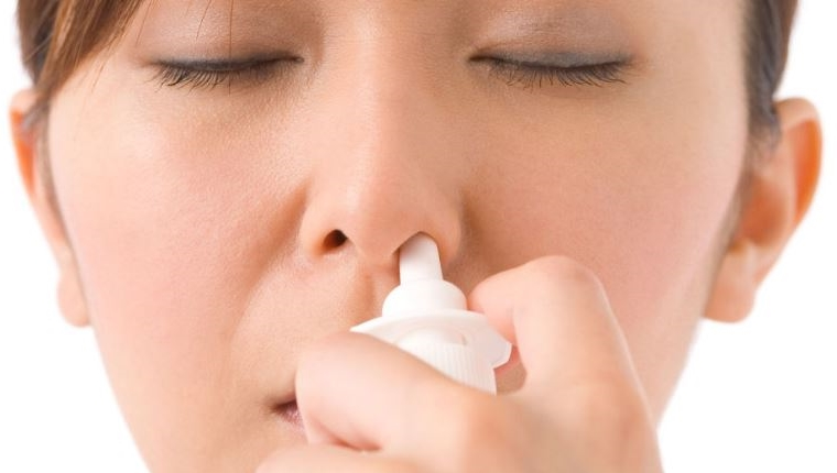 Spray nasal contre les infections nasales